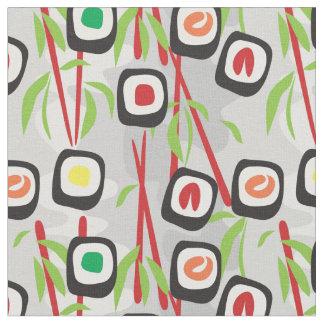 寿司パターン ファブリック