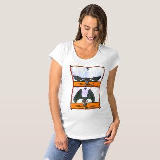 寿司猫! ママ マタニティTシャツ