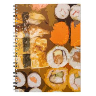 寿司 ノートブック