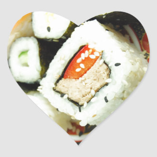 寿司 ハートシール