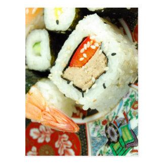 寿司 ポストカード