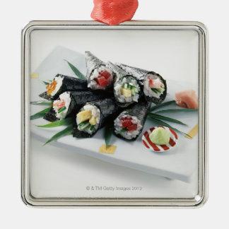 寿司 メタルオーナメント