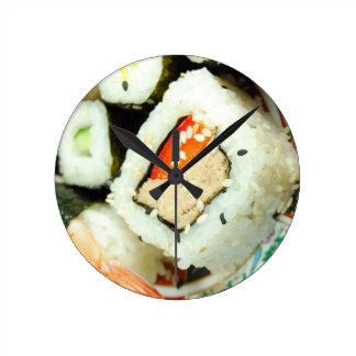 寿司 ラウンド壁時計