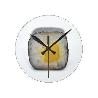 寿司! ラウンド壁時計