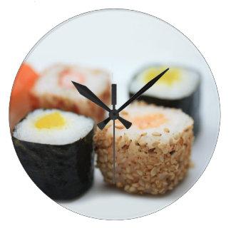 寿司! ラージ壁時計