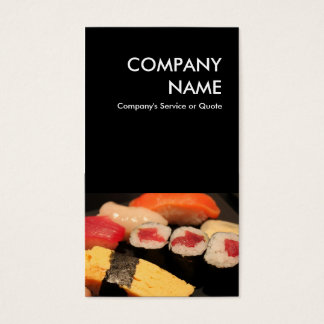 寿司 名刺