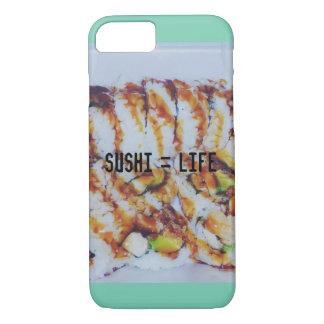 """""""寿司=生命"""" iPhone 7の場合 iPhone 8/7ケース"""
