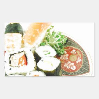 寿司 長方形シール