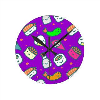 寿司Moki ラウンド壁時計