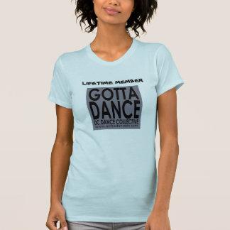 寿命のメンバーのTシャツを踊るために得られる Tシャツ