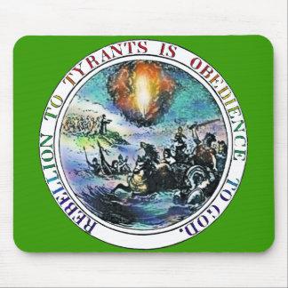 専制君主のトーマス・ジェファーソンの素晴らしいシールへの暴動 マウスパッド