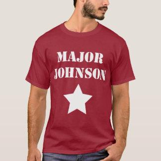 専攻のなジョンソン Tシャツ