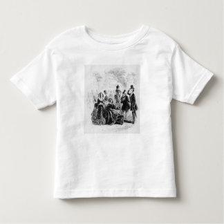 専攻のなBagstockは喜んでいます トドラーTシャツ