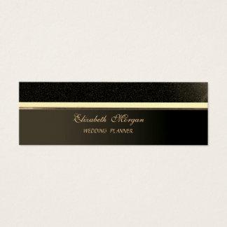 専門のエレガントでスタイリッシュな洗練された スキニー名刺