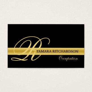 専門のエレガントで贅沢な名刺のデザイン 名刺