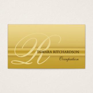 専門のエレガントで贅沢な名刺の金ゴールド 名刺