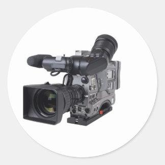 専門のビデオ・カメラ ラウンドシール