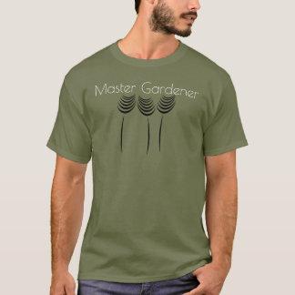 専門のマスターの庭師のTシャツ Tシャツ