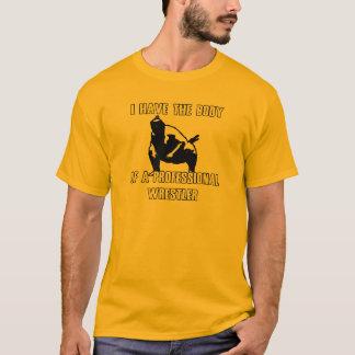 専門のレスリング選手 Tシャツ