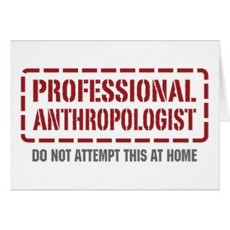 専門の人類学者 カード