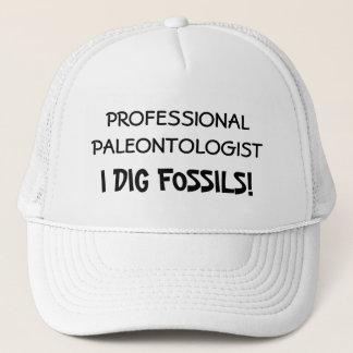 専門の古生物学者-私は化石を掘ります キャップ