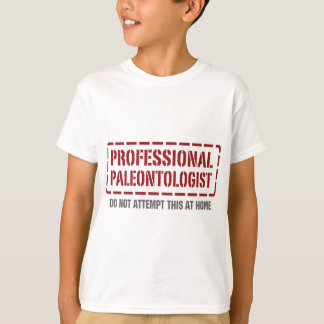 専門の古生物学者 Tシャツ