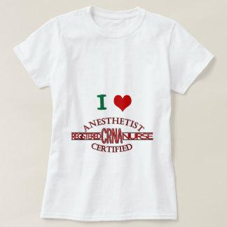 専門家CRNAのロゴ Tシャツ