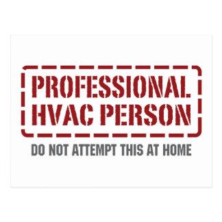 専門HVAC人 ポストカード