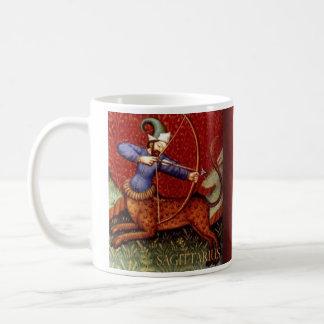 射手座の歴史的マグ コーヒーマグカップ