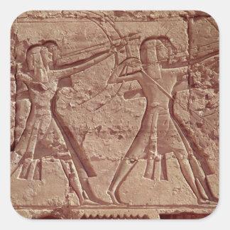 射手、Ramesses IIIの狩りからの詳細 スクエアシール