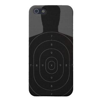 射撃練習場ターゲットiphone 4ケース iPhone 5 ケース