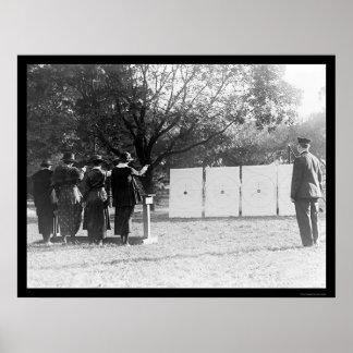 射距離1920年の婦人警官 ポスター