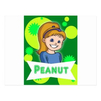 小さいおよびピーナツの冒険 ポストカード