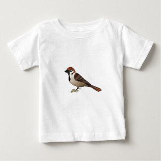小さいすずめ ベビーTシャツ