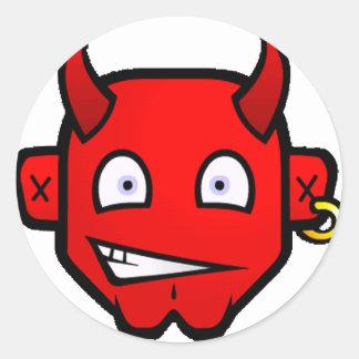 小さいひどい悪魔- ラウンドシール