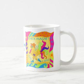 小さいひよこの磁石のマグを遊んで下さい コーヒーマグカップ