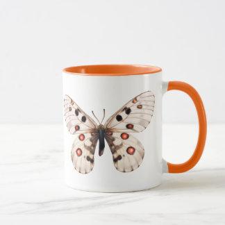 小さいアポロ蝶コーヒー・マグ マグカップ