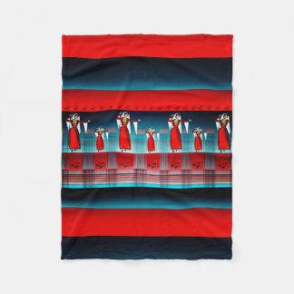 小さいアルメニアのダンサーのフリースブランケット フリースブランケット