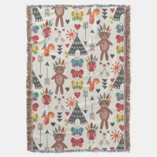 小さいインディアンのブランケット 毛布