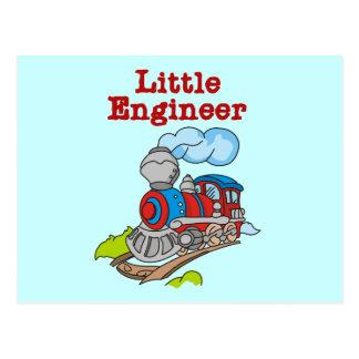 小さいエンジニアのTシャツおよびギフト ポストカード
