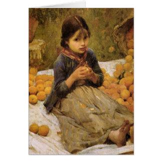 小さいオレンジ採集 カード