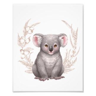 小さいオーストラリアの友人-コアラ フォトプリント
