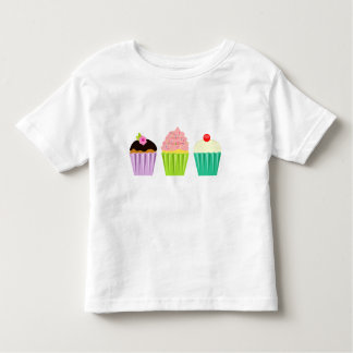 小さいカップケーキの幼児のティー トドラーTシャツ