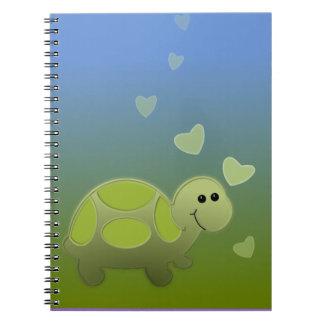 小さいカメ ノートブック