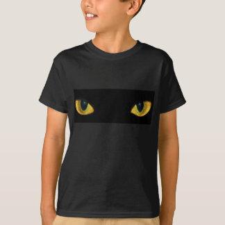 小さいキャッツ・アイのワイシャツ Tシャツ