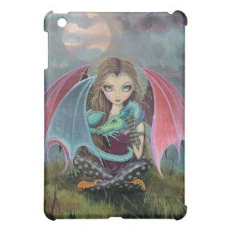 小さいゴシック様式妖精およびドラゴンのファンタジーのiPadの場合 iPad Miniカバー