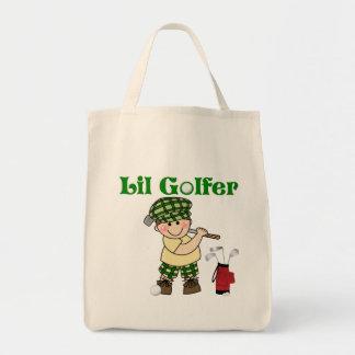 小さいゴルファー トートバッグ