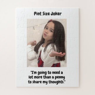小さいジョーカー: あなたの思考のためのペニー ジグソーパズル