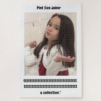 小さいジョーカー: 参加のトロフィのコレクション ジグソーパズル