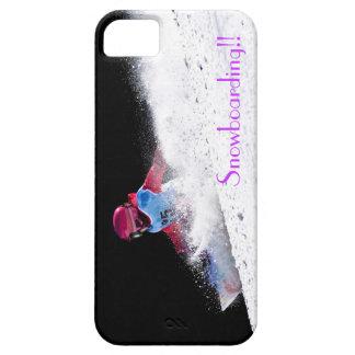 小さいスノーボーダー iPhone SE/5/5s ケース